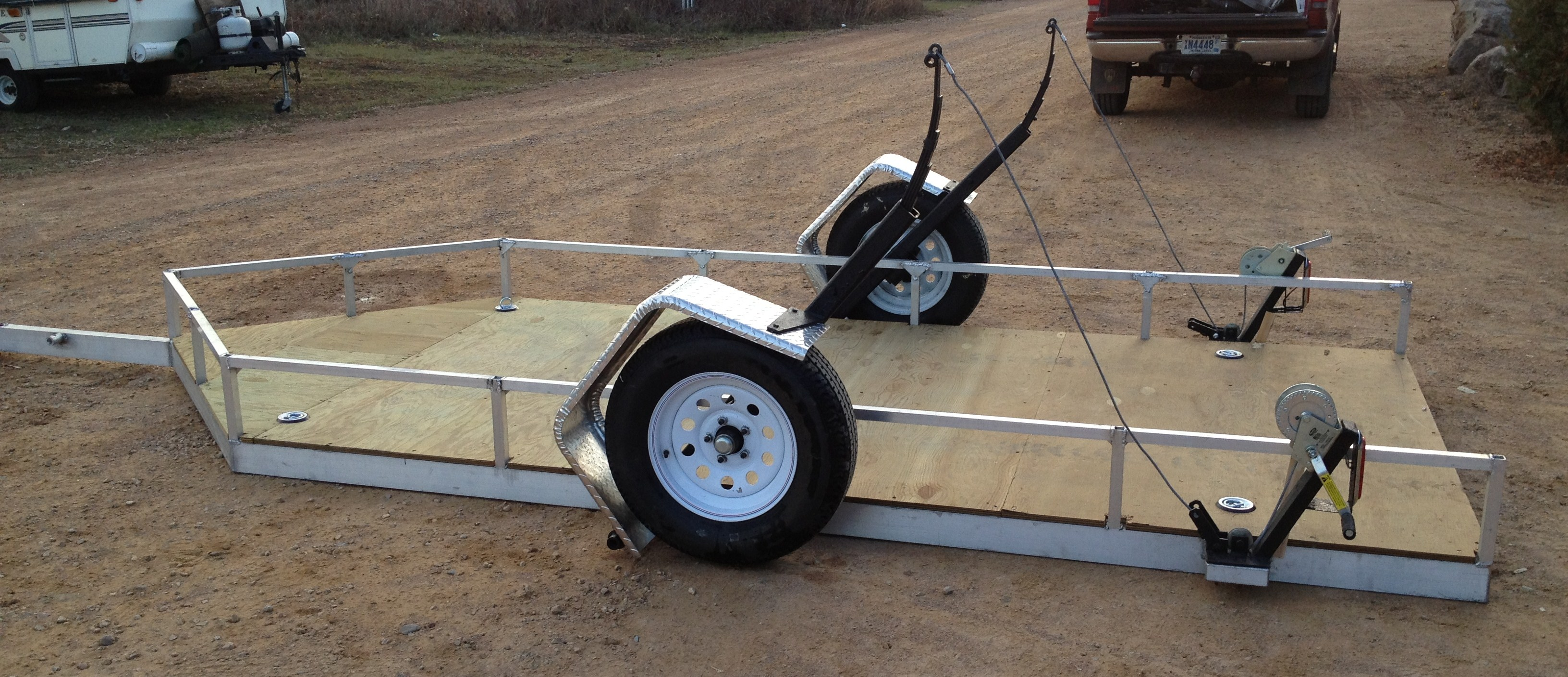 Aluminum All Season Sport Trailer